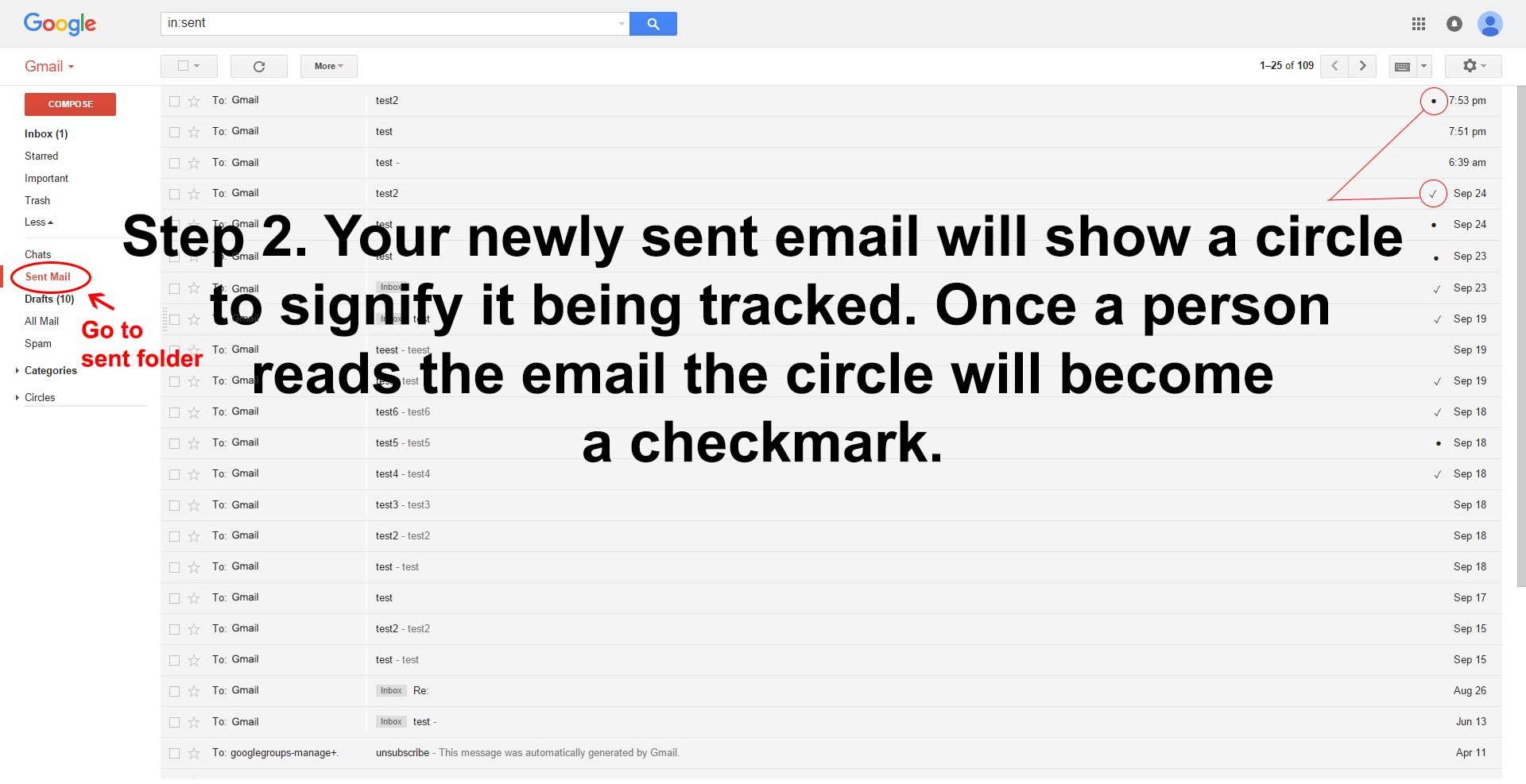 Email Tracker Instructions